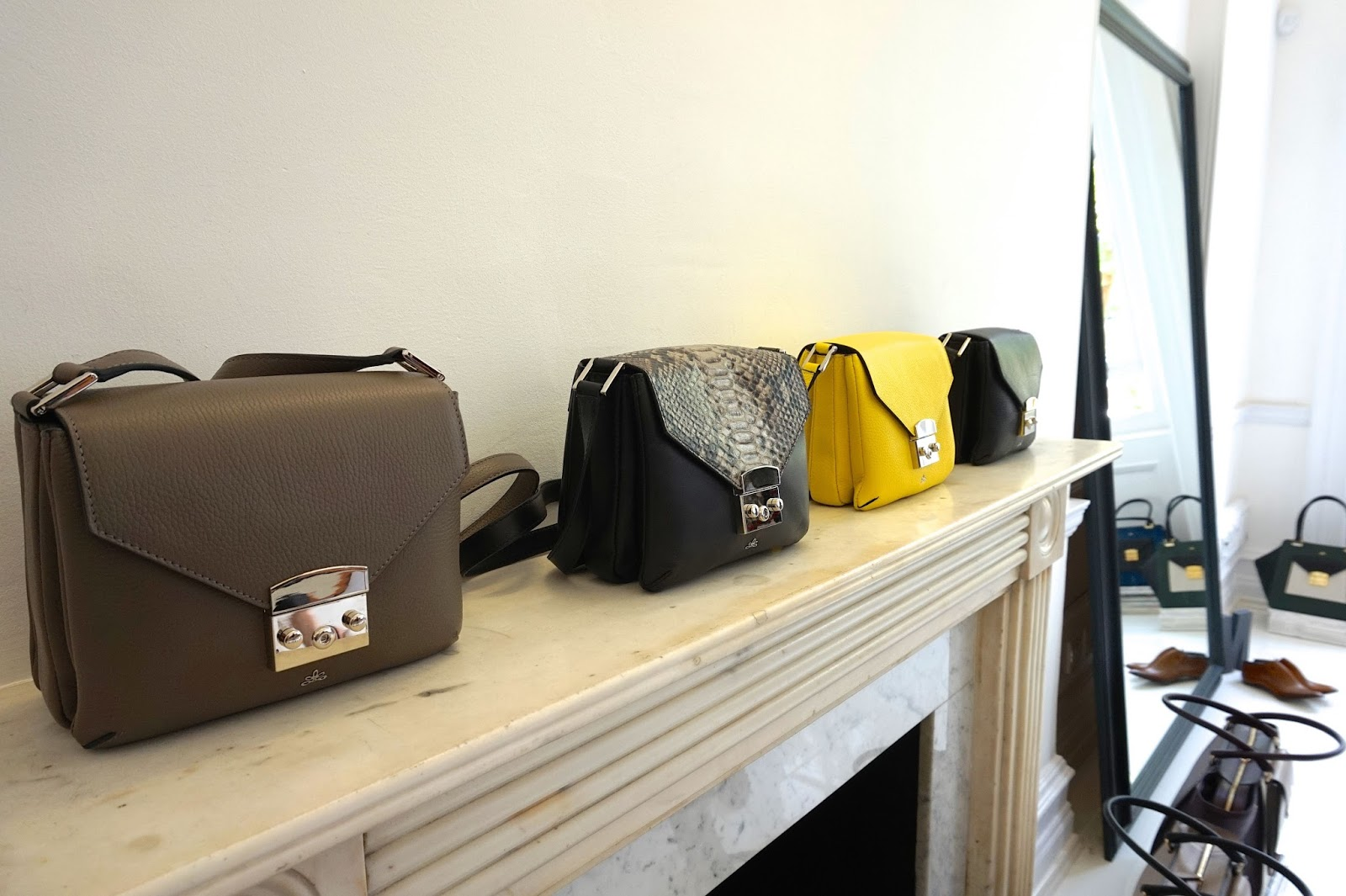 milli millu handbags event london