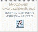 Wyzwanie w Paper Passion.pl do 23-10-2016