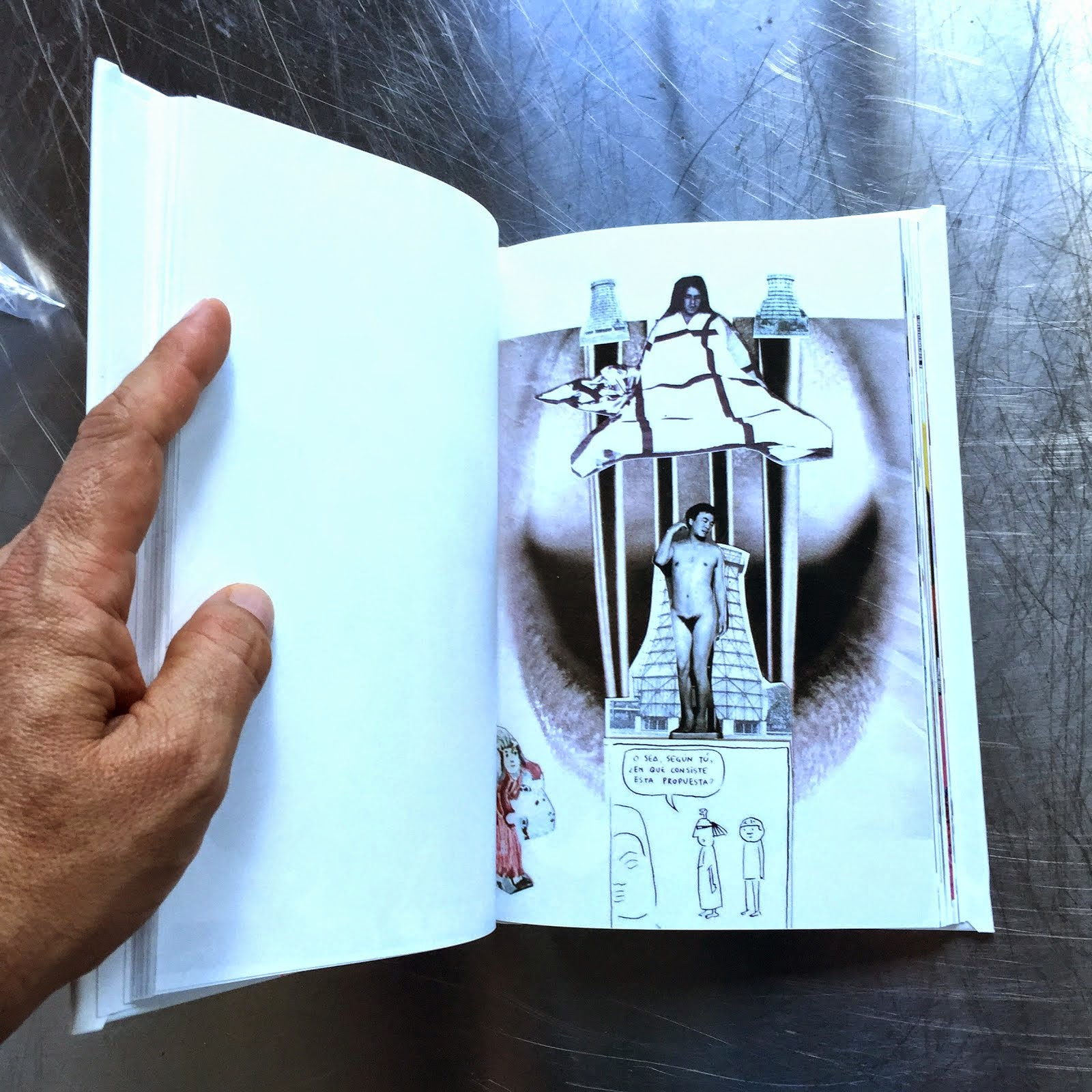 "Libro Modernismo Anacronico ""COLLAGE"""