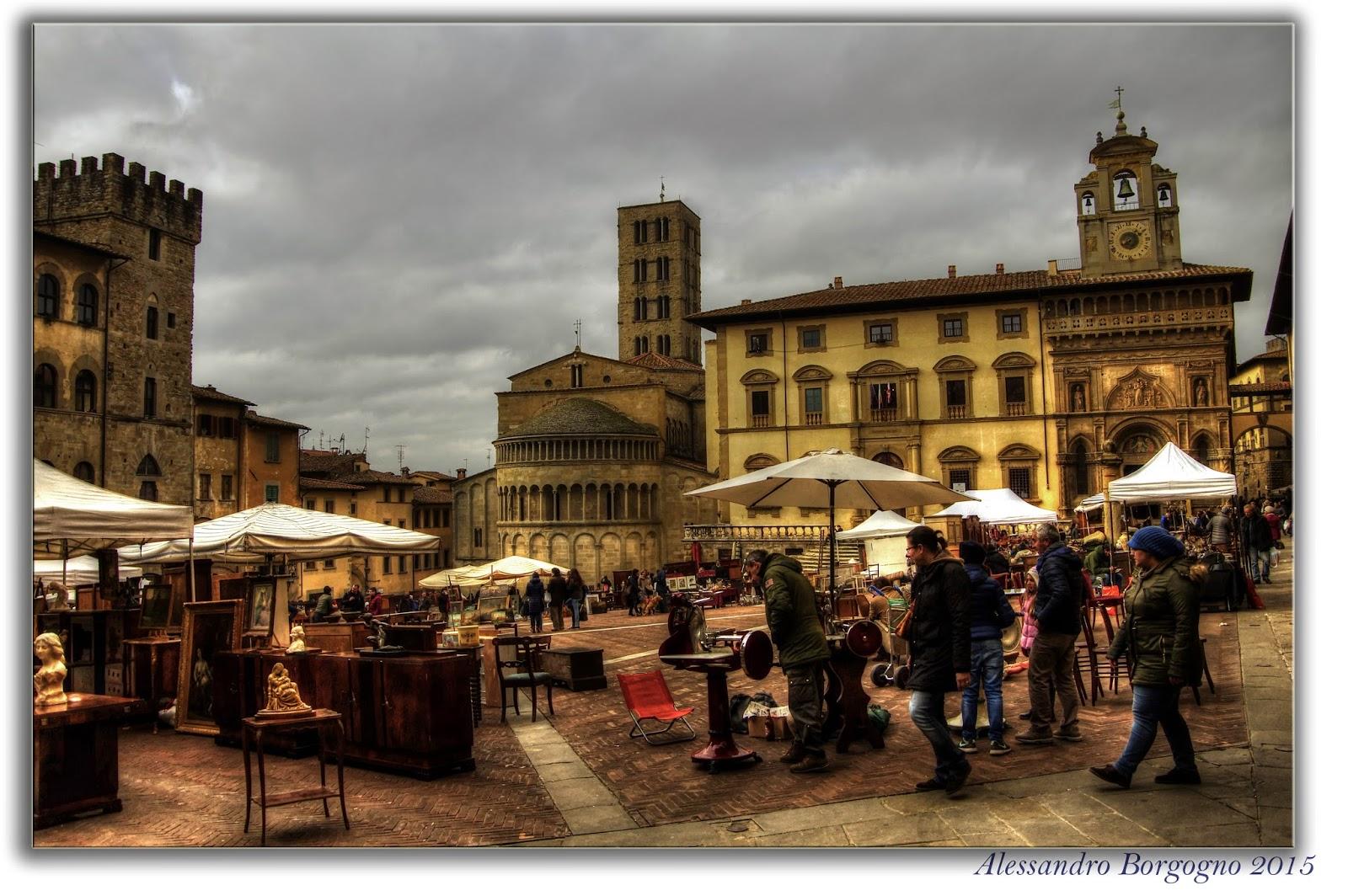 La kasa imperfetta si fa presto a dire mercatini for Arezzo antiquariato