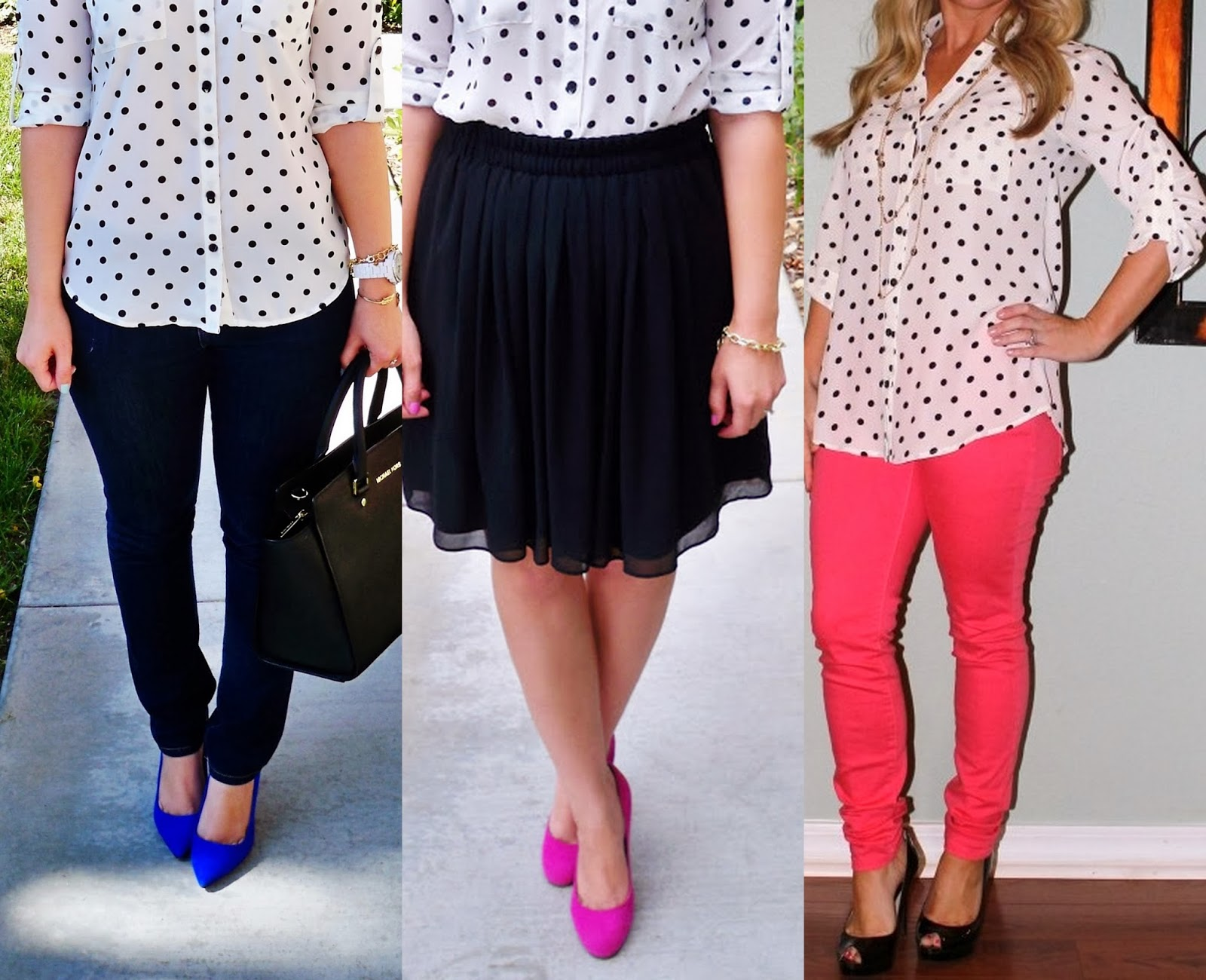 express polka dot portofino shirt