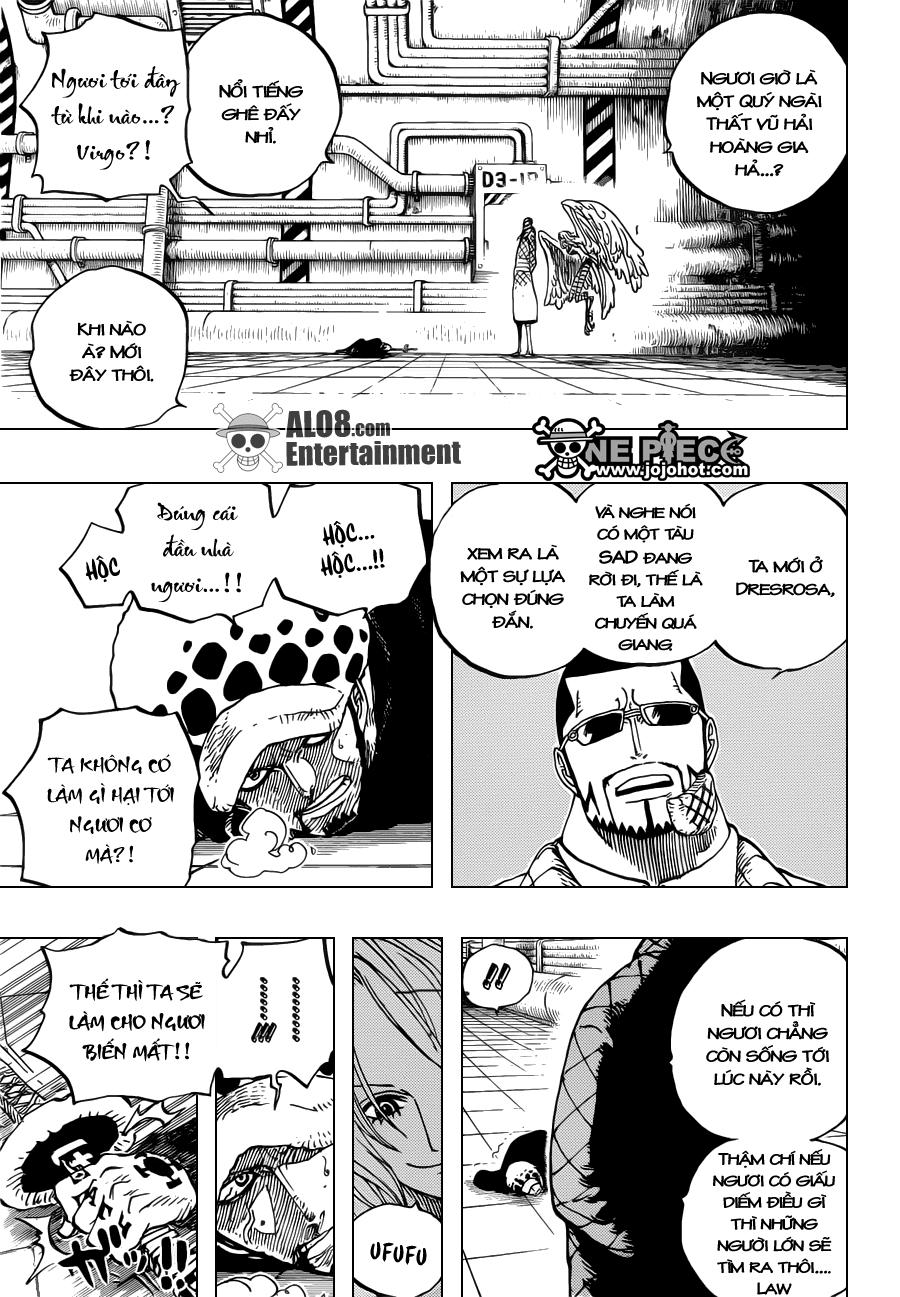 "One Piece Chapter 672: ""Tên ta là Kinemon!!"" 003"