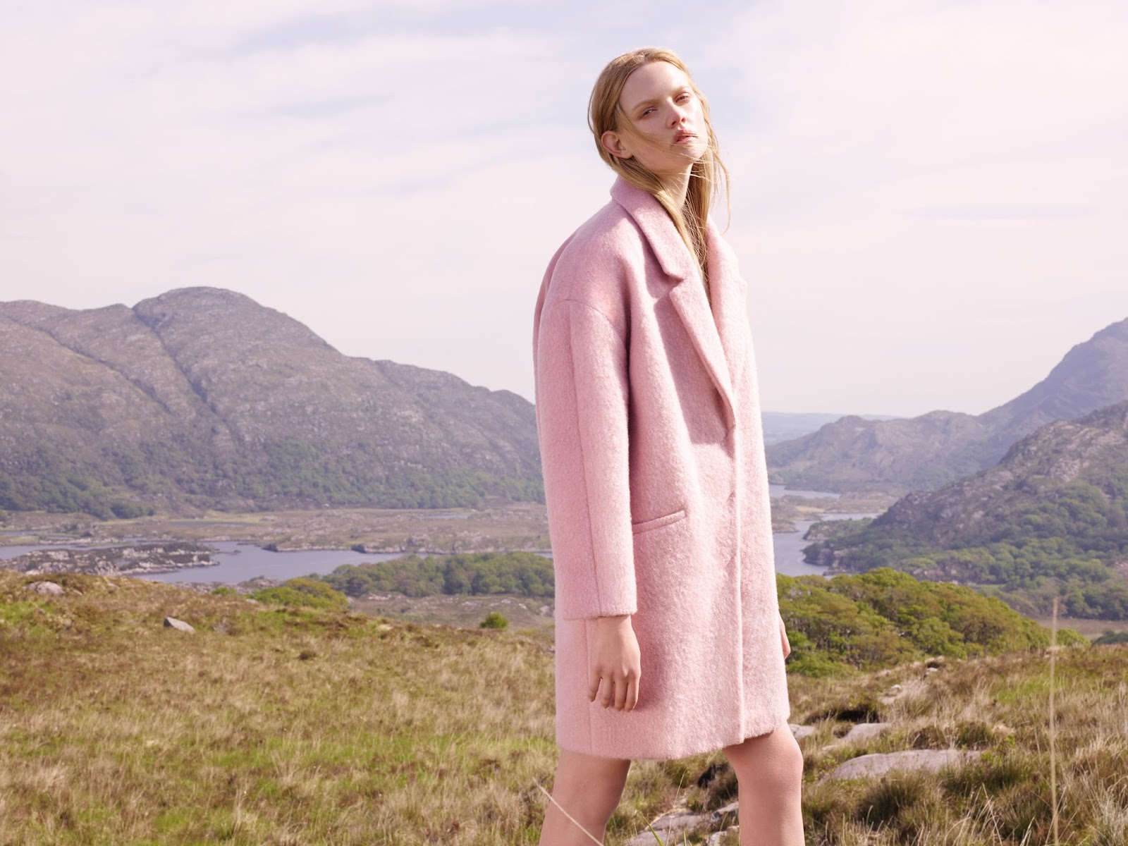 primark pink coat, primark autumn winter 2014