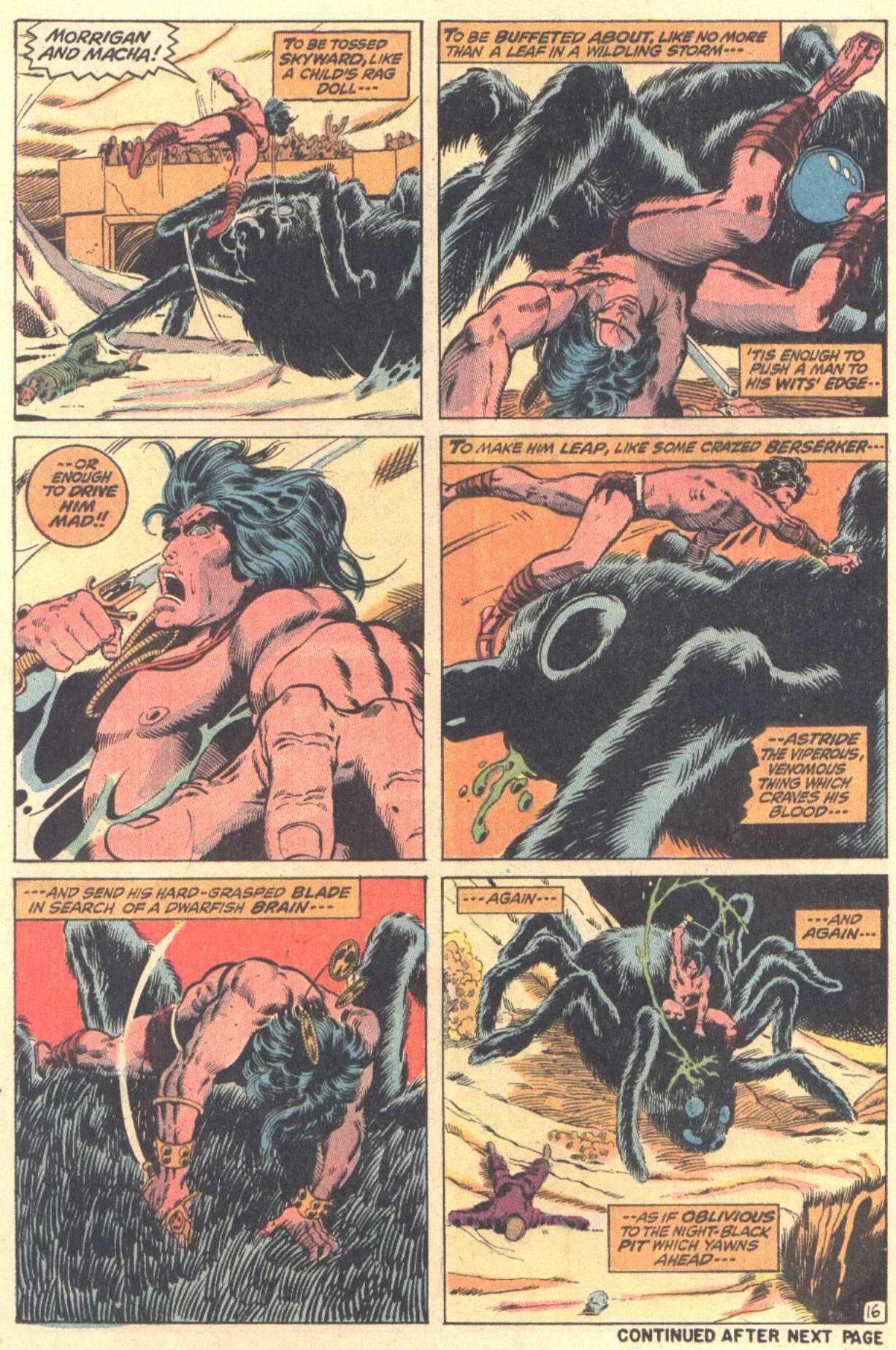 Conan the Barbarian (1970) Issue #13 #25 - English 17