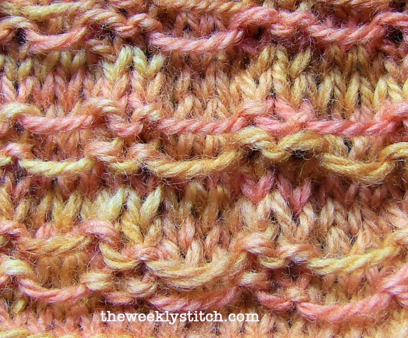 Sl Stitch In Knitting : August 2013 The Weekly Stitch
