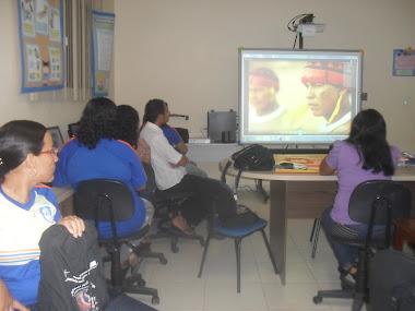 Atividade com os alunos da 2ª etapa/EJA
