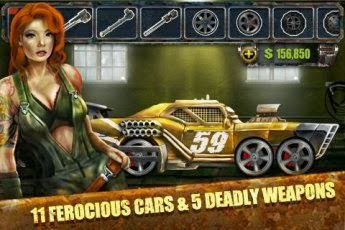 Road Warrior Best Racing Game Full Apk İndir