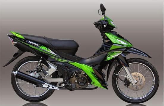 Kawasaki EDGE R Green