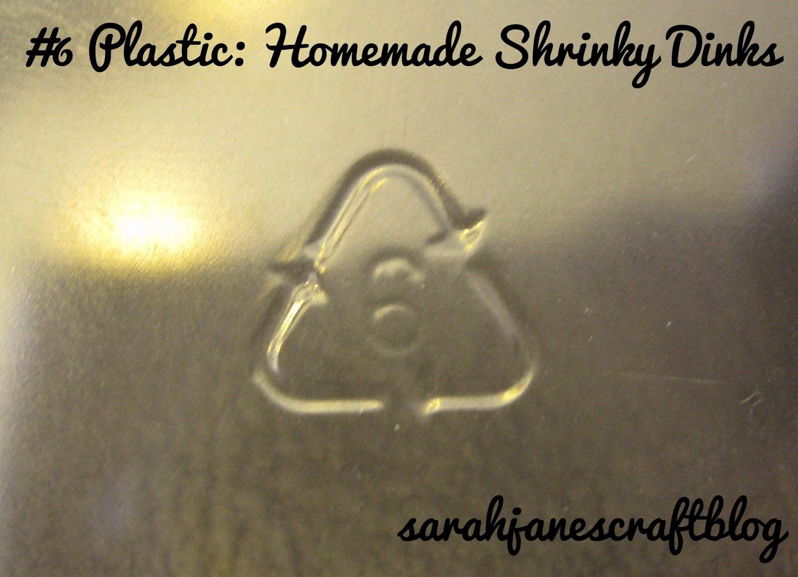 Sarah Jane S Craft Blog Homemade Shrinky Dinks
