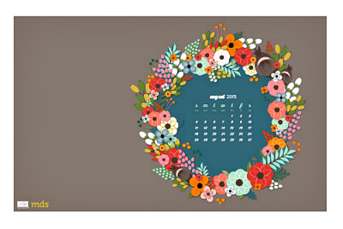Free Download: About to Blossom August Desktop Wallpaper