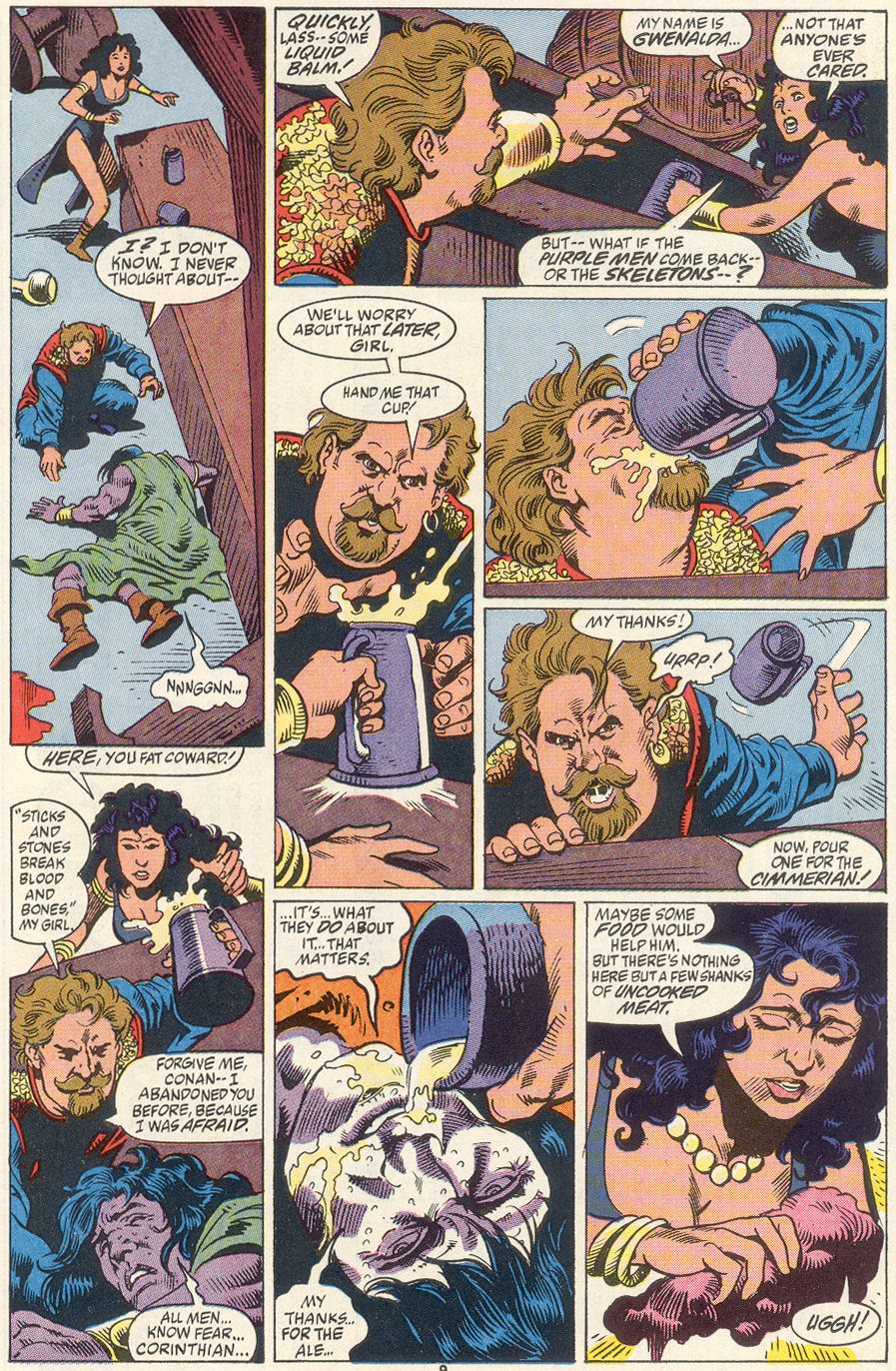 Conan the Barbarian (1970) Issue #256 #268 - English 8