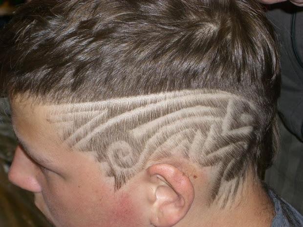 hair tattoo design - 25 artistic
