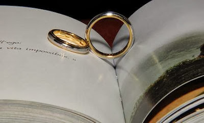 Improve Your Marriage With a Check Up  - ring book wedding
