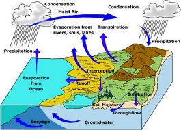 The Hydrologic Cycle Is Process Powered By Suns Energy Which Moves Water Between Oceans Sky And Land