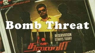 Bomb threat to Vijay's movie Thalaiva