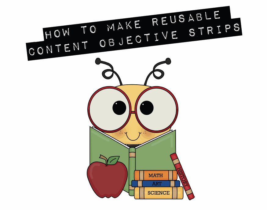 First Grade Factory: Summer To Do List: Content Objective Strips