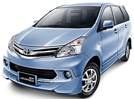 Toyota All New Avanza Light Blue Metallic