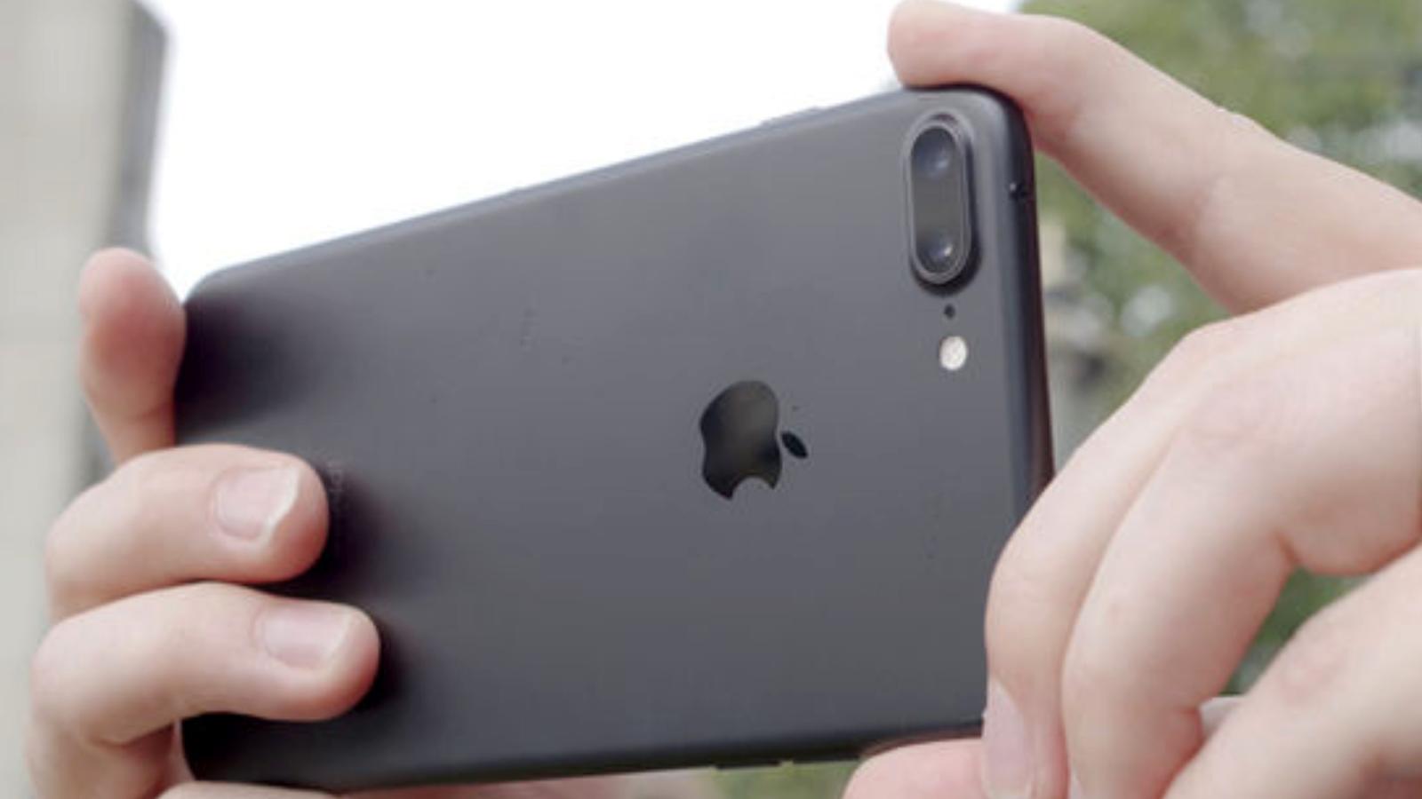 Как сделать размытое фото на айфон 7