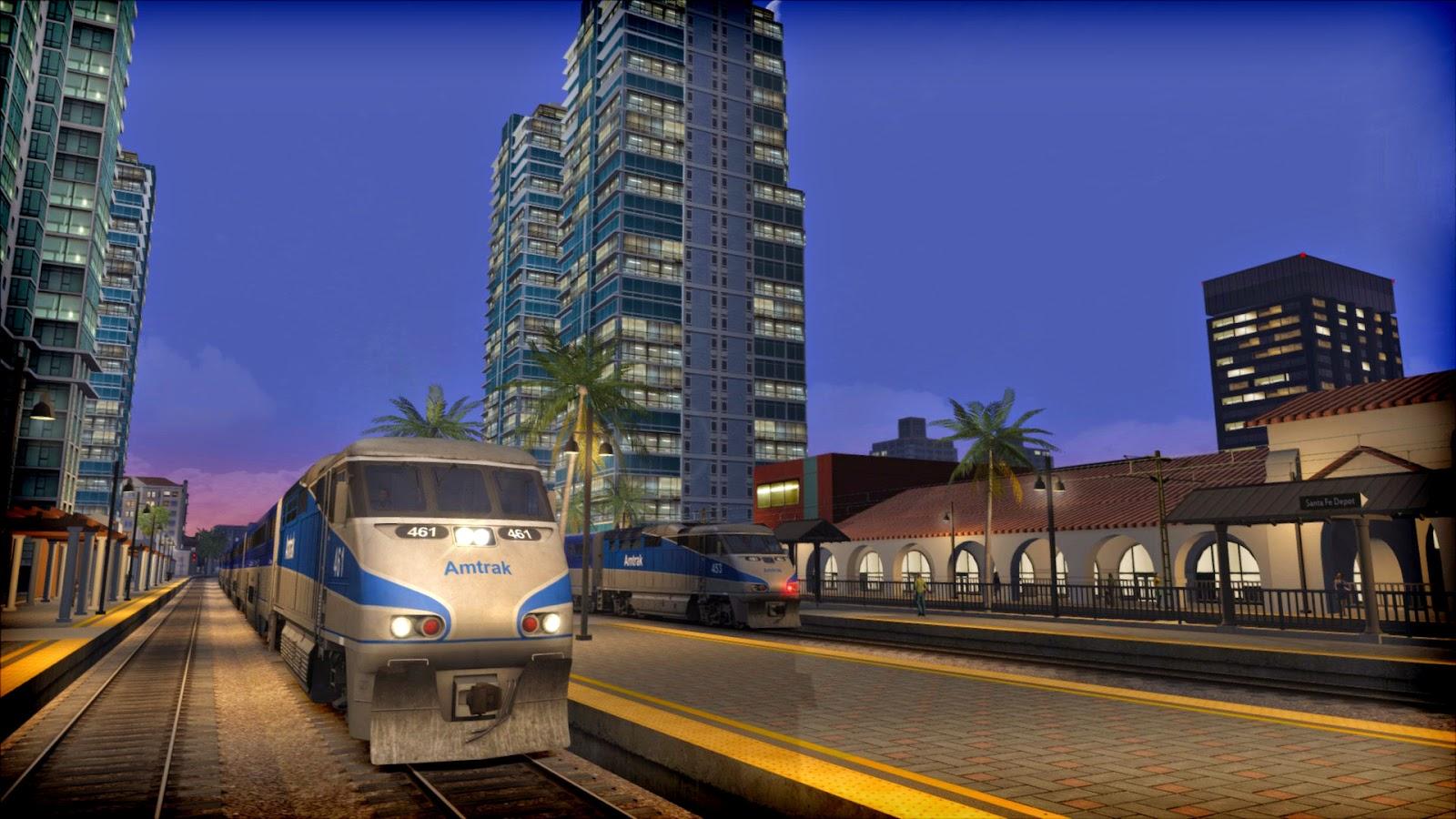 Train Simulator 2015 gameplay