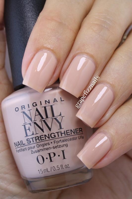 Grape Fizz Nails: New OPI Nail Envy