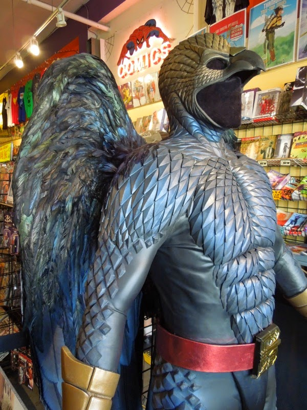 Birdman movie costume detail