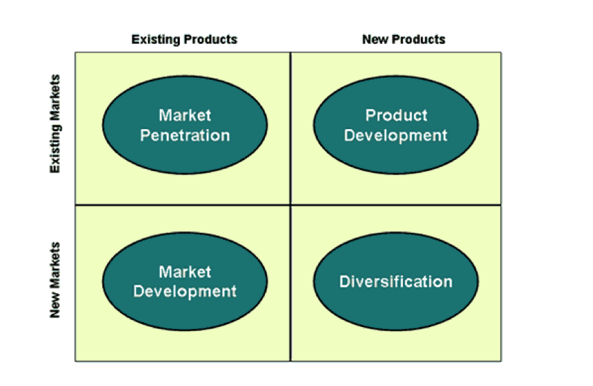 four product market expansion grid stretegies 1 name and describe the four product/market expansion grid strategies and explain which strategy google implemented with the nexus one the four product/market expansion grid strategies.