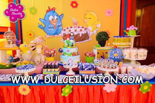 decoracion fiesta infantil de la gallina pintadita decoracion de fiestas infantiles lima peru