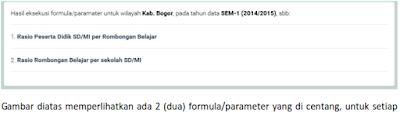 formula/parameter