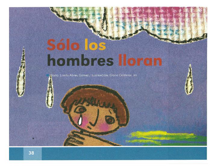 Solo los hombres lloran español 2do bloque 5/2014-2015