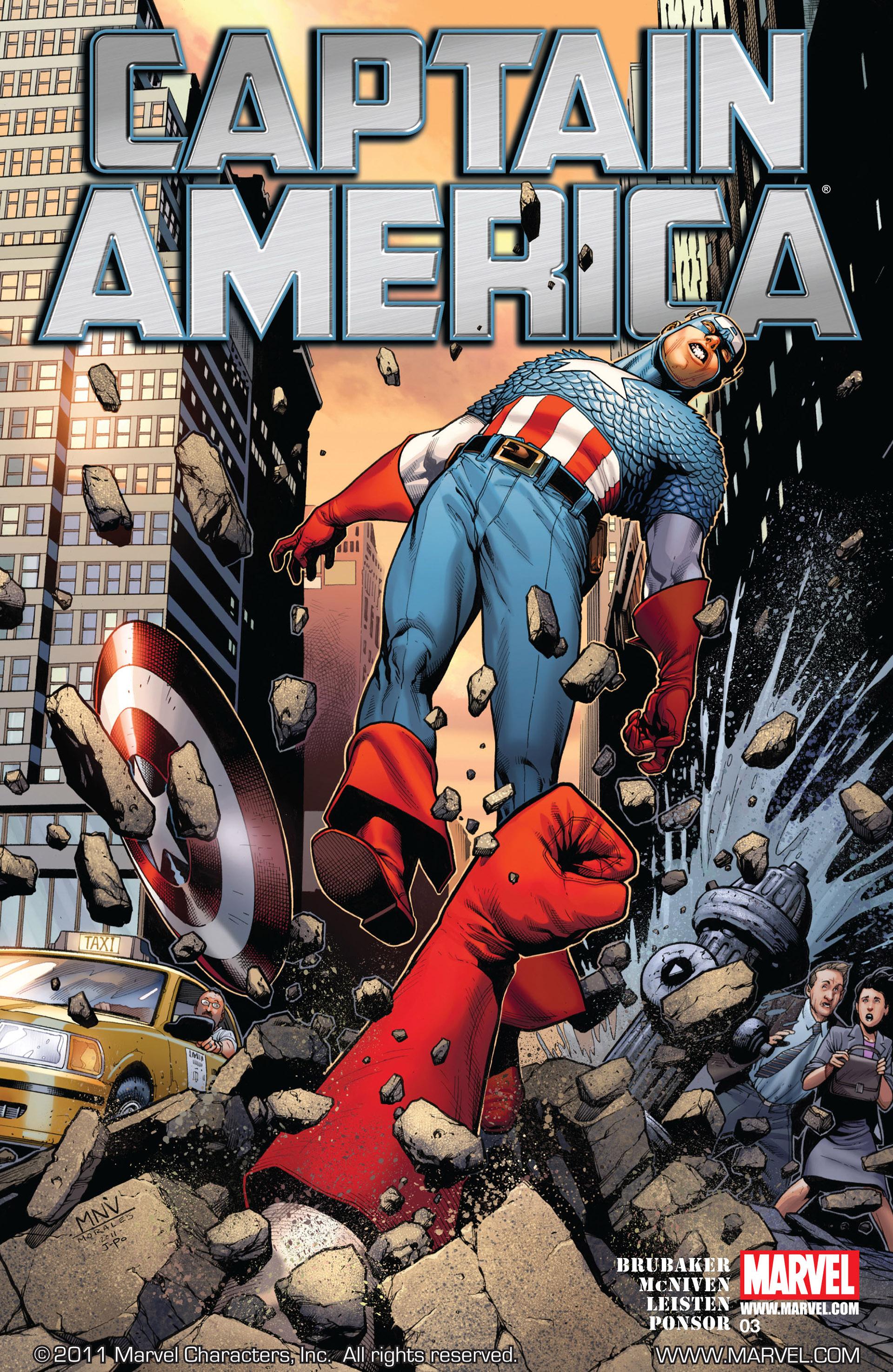 Captain America (2011) Issue #3 #3 - English 1
