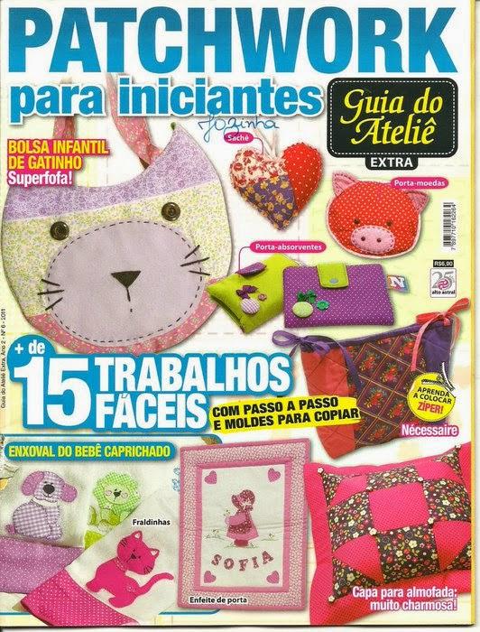 Revistas de manualidades Gratis: Patchwork para principiantes