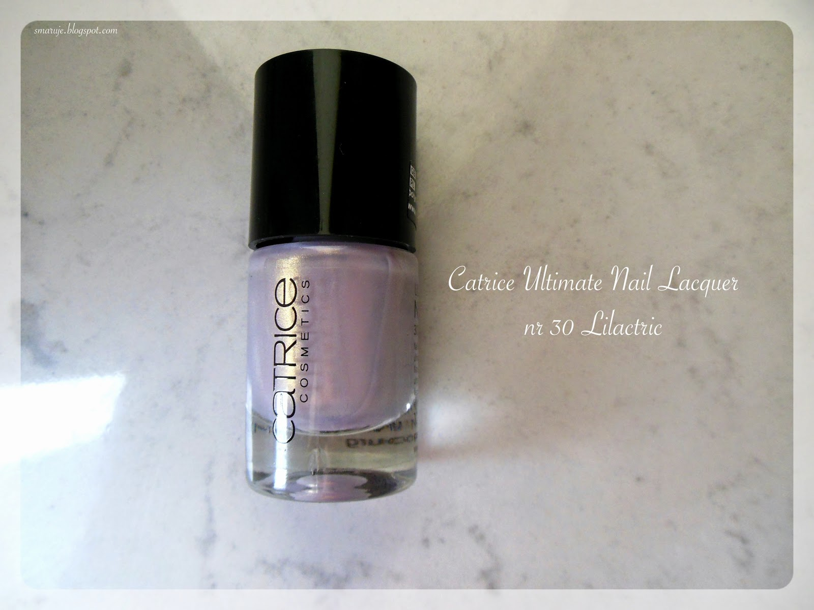 Elektryzujący lilak: Catrice – Ultimate Nail Lacquer nr 30 Lilactric