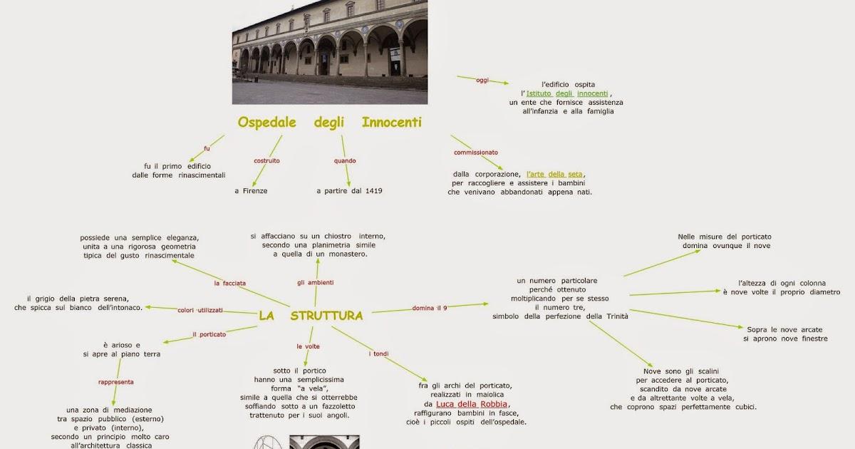 paradiso delle mappe brunelleschi ospedale degli