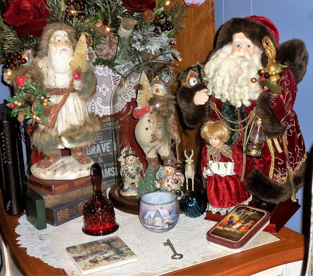 Christmas in the Den, Part 1, Christmas Home Tour, 2016