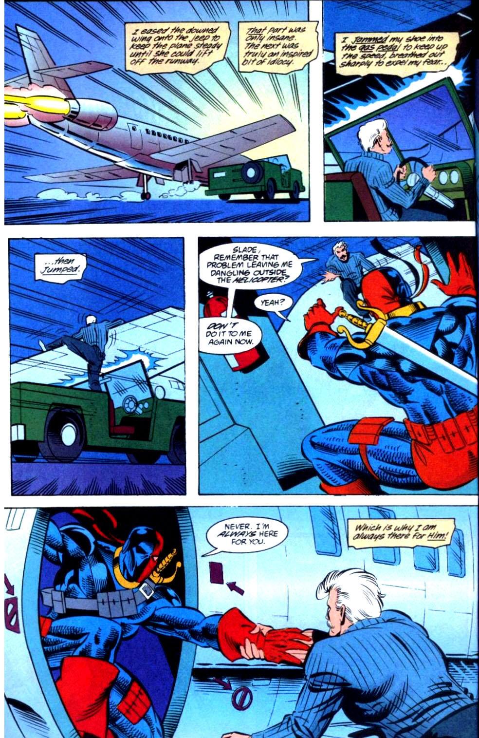 Deathstroke (1991) Issue #36 #41 - English 22