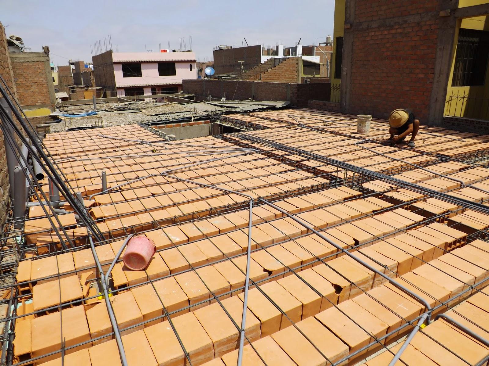 Cristian campos nuevo techo de losa aligerada for Losa techo