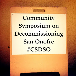 Community Symposium on Decommissioning San Onofre