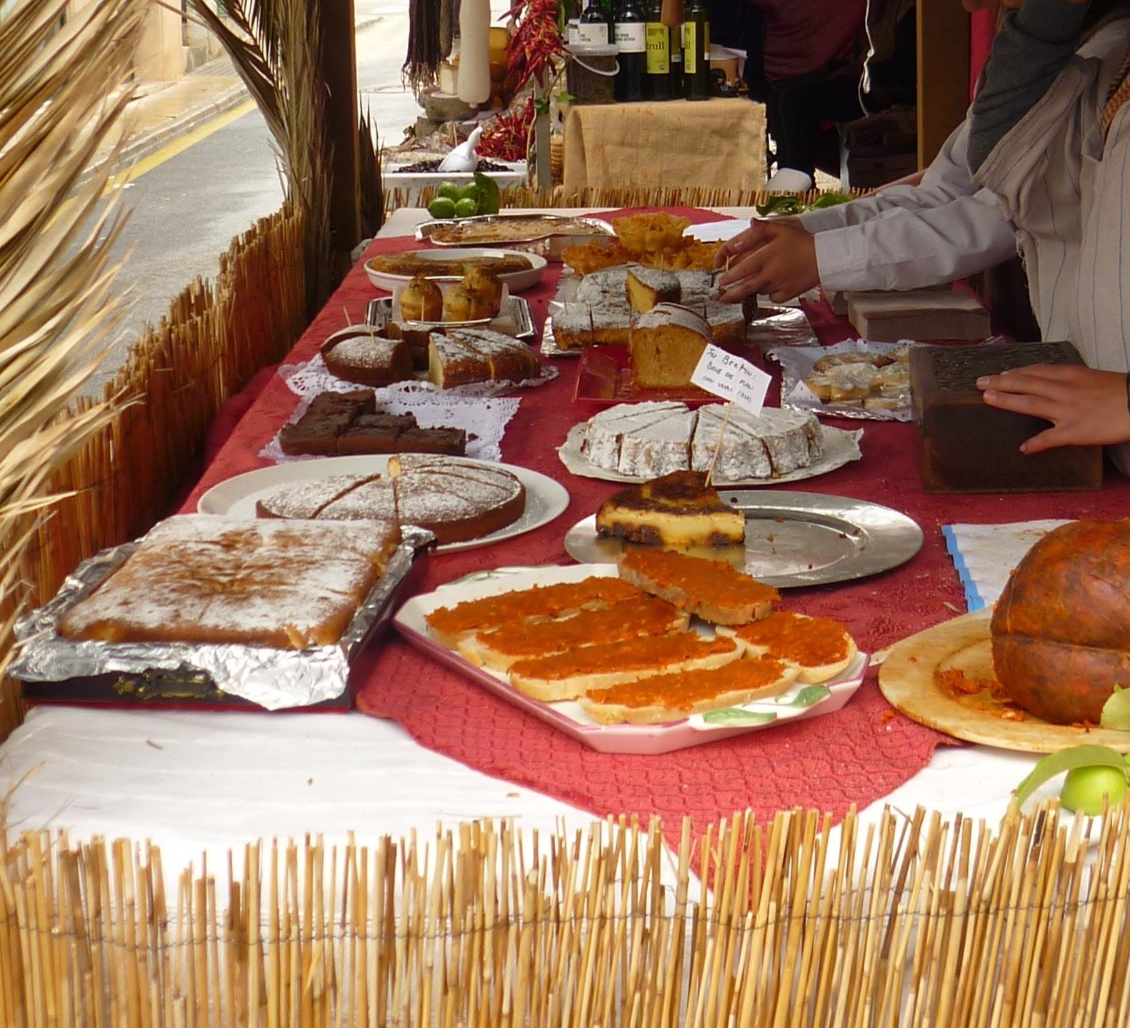 comida mercado medieval mallorca