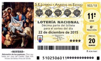 sorteo loteria de navidad 2015