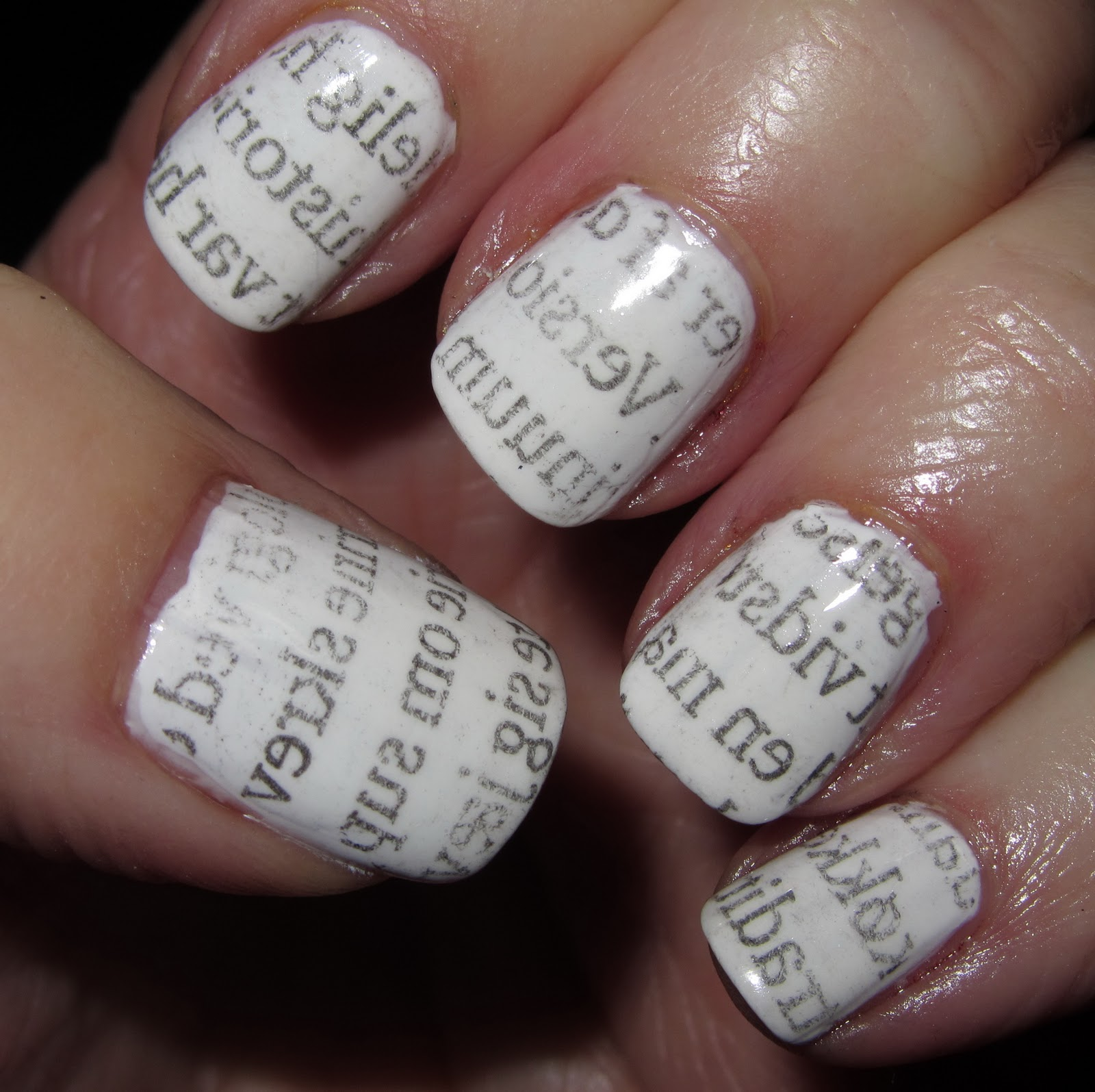 Nail Arts Newspaper | Nail Art Designs