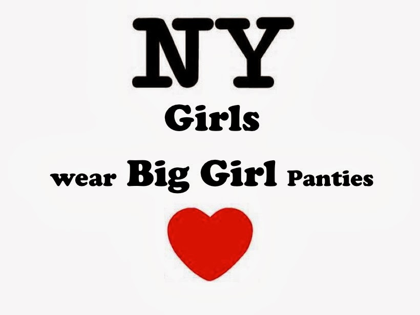 New york girls wear big girl panties