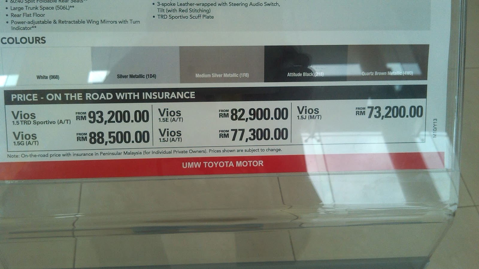 Discount Vios Jun 2013 | Autos Post