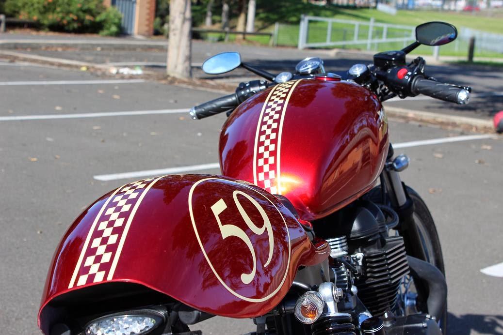 Red Baron Triumph Bonneville Cafe Racer | Triumph Bonneville Cafe Racer | Triumph Cafe Racer | Triumph Bonneville Cafe Racer Parts | Triumph Bonneville Cafe Racer For Sale | Triumph Cafe Racer parts