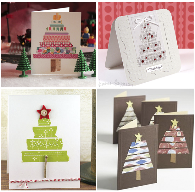Con la sonrisa puesta alegr a alegr a que llego la - Tarjetas de navidad hechas por ninos ...