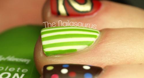 Candy Crush Nail Art The Nailasaurus Uk Nail Art Blog