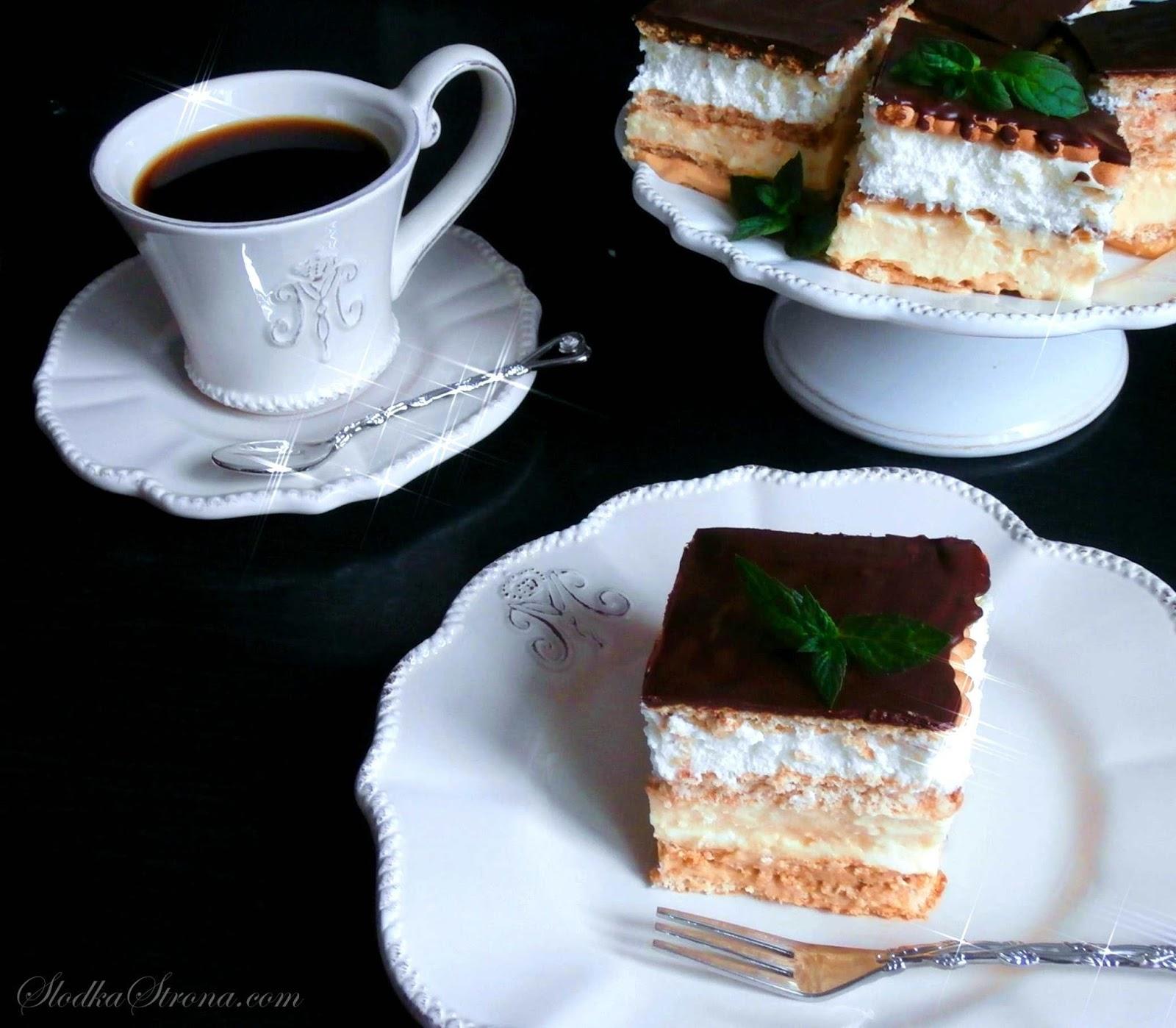 """Ciasto """"3 Bit"""" - Bez Pieczenia - Przepis - Słodka Strona"""