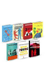 Buy Chetan Bhagat (Combo Of 7 Books) at Rs.538 After cashback