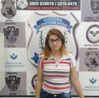 Jaçanaense é detida com droga e celular na vagina e diz que usava DIU para entrar em presídio