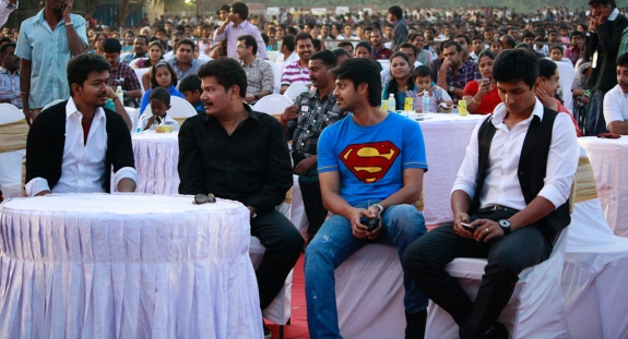 Tamil Movie Nanban Latest Audio Launch Photo Gallery Vijay Shankar wallpapers