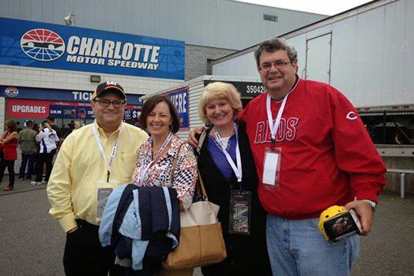 Howard (Blake's brother), his wife, Jeannine, Kathy (Blake's wife) and Blake (the Grand Prize Winner)